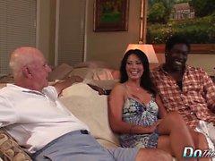 La esposa Zoey toma Dick