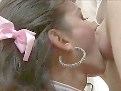 Vollbusig Transvestit Jaqueline Braxtons Esel durch die Horn Dude gebumst