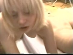Older Guy on 4 Young Blondes and 1 Young Brunette - Amateur Girls - PART 2