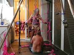 Rinni Get Sipder-Webbed by Master R PART 3