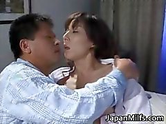 Extremely horny japanese MILFS sucking part2