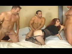 Home Made Gang Bang 8 - Scene 1