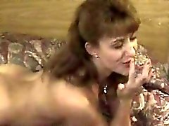 This Asian MILF gets a creampie