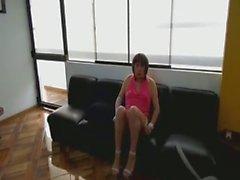 die sexy Sekretärin fucking mit ihren großen Schwänzen