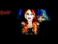 vampiro femme Fetale tette enormi in cam in diretta spettacolo arco Samantha38g parte 1