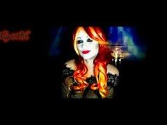 vampiro femme fetale peitos enormes Câmara ao vivo show de arco Samantha38Gs parte 1