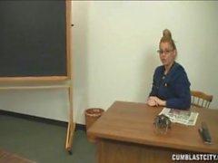 After class handjob
