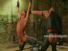 Tyler Saint whips Dominic into shape
