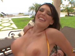 BigSausagePizza com Jenna Presley Cums Para La Gran Salchicha
