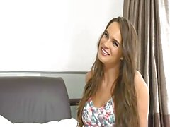 British slut Tanya is on the bed in a lesbian scene again