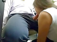 Sucking my boss off before I go