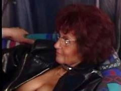 Pierced Granny Fucks Again