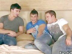 Brett , de Patrick et Reese a homosexuel trio part5
