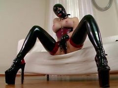 Latex Lucy the British Dominatrix 2 - Scene 2 - DDF Productions