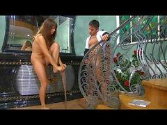 Jessica&Govard nasty pantyhose movie
