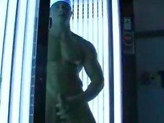Heiße Muskelgerbung