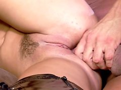 Busty blonde slut wants nothing more than a hard cock banging her ass