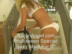 Alison Angel - Sexy Maid