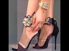 Com tira no tornozelo ... TOE SEGMENTAÇÃO ... peep toes - saf