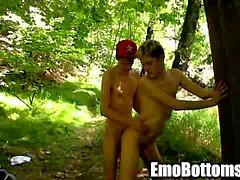 Emo Twink von Skylar Nordost bekommt anal fickte Freien