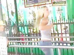 Alison di angelo strofinando la figa