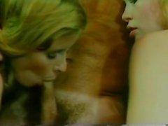 Vanessa del Río John Leslie Gloria Leonard en video porno clásico