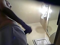 Caught My Straight Boyfriend Masturbating in the Restroom