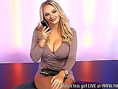 Lola Lawson, amazing cleavage… Huge boobs