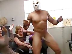 Long Cock Office Orgy on Dancingcock