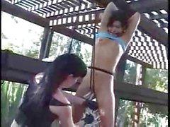 Lesbian Labia Punishment.