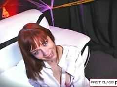 First Class POV - Watch Alexa Nova sucking a big fat dick in POV action