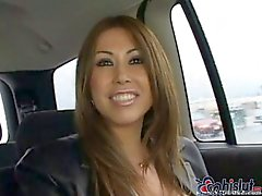 Hot asian milf with 2 horny guys