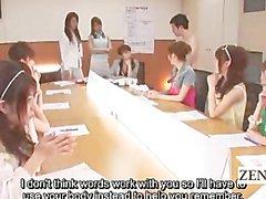 El grupo pumas del japonesa jugar pierna de CFNM oficinas el subtítulo
