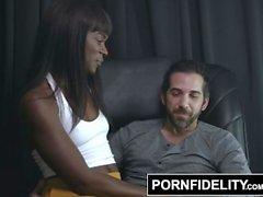 PORNFIDELITY Ana Foxxx and Donnie Rock Get Intimate
