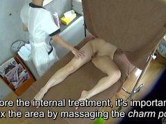 Subtítulos CFNF ENF clínica de masajes lesbianas japonés