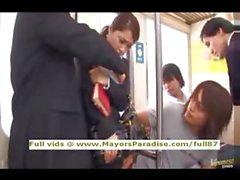 Mihiro masum Çinli kız bir metro lanet alır