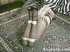 Enroscado selvagem Palmada Fetiche de Porn