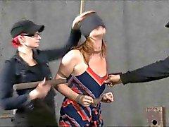Bondage BDSM Slave Cici Kırbaç Çileleri