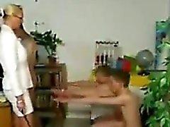 Teacher Spanking Her Students