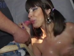busty latin stepmom in wild fuck party