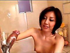 Sexy elegante senhora japonesa creme por airliner1