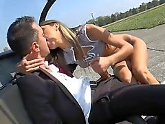 Gina Gerson aka Doris Ivy gets fucked in heli