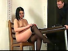 Gorgeous secretary interviewed
