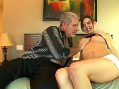 Sadie Holmes likes her boss' cock