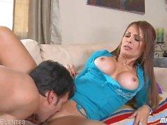 Große Brüste MILF Monique Fuentes Ficken
