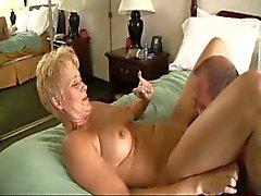 heiß Paar mittleren Alters Warm Heimvideo