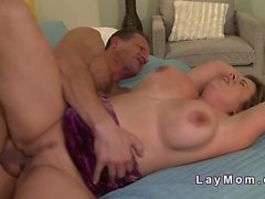 Huge tits mature bbw fucking to orgasm