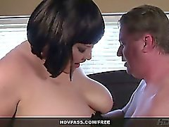 HDVPass BBW Kelly Shibari from Roseanne XXX 69's and gets