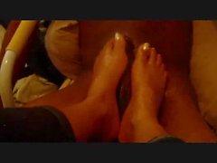 Sexy White Toes Ebony FJ