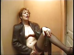 Dirty Talk French Mature Fucked In The Stairs by TROC